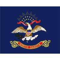 Annin North Dakota State Flag - 4' x 6'
