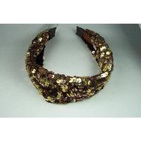 pircosmetics head dress Pircosmetics gold plates headband