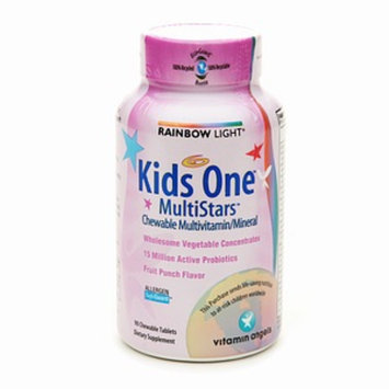 Rainbow Light Kids One MultiStars Chewable Multivitamin/Mineral