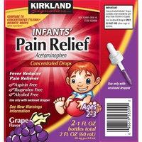 Kirkland Signature Infants' Pain Relief Concentrated Drops, 2-1fl Oz Bottles Total 2 Fl Oz (60 Ml)