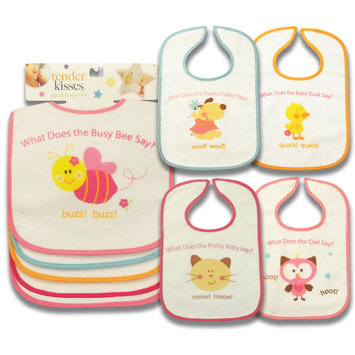 A.d. Sutton & Sons/pacesetter Tender Kisses Girl's 5 Pack Animal Sayings Assortment - A.D. SUTTON & SONS/PACESETTER