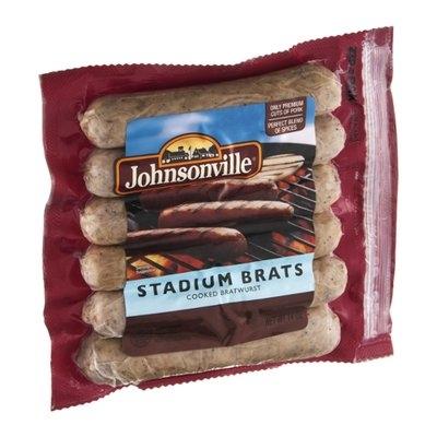 Johnsonville Stadium Brats - 6 CT