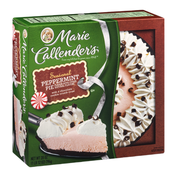 Marie Callender's Peppermint Pie with Chocolate Cookie Crumb Crust