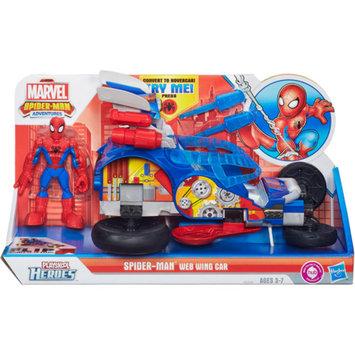 Playskool Heroes Spider-Man Adventures Spider-Man Web Wing Car