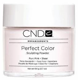 Creative Nail Design Perfect Color Powder Pure Pink 3.7 oz.