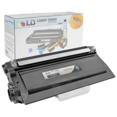 LD Compatible Brother TN720 Black Laser Toner Cartridge for Brother DCP 8110DN, 8150DN, 8155DN, HL 5440D, 5450DN, 5470DW, 5470DWT, 6180DW, 6180DWT, MFC 8510DN, 8710DW, 8810DW, 8910DW Printers