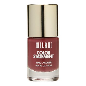 Milani Color Statement Nail Lacquer, Mauving Forward, .34 fl oz
