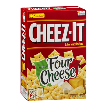 Cheez-It® Italian Four Cheese Baked Snack Crackers