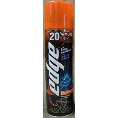Edge Shaving Gel for Sensitive Skin with Aloe - Value Size (20% More) - Net Wt 8.4 oz - 1 Each