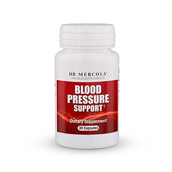 Dr Mercola Blood Pressure Support - 30 Capsules