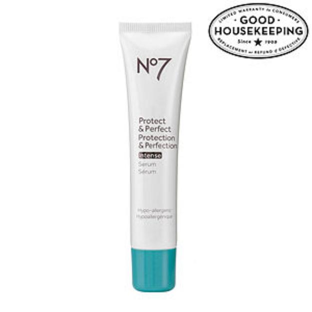 Boots No7 Protect & Perfect Intense Beauty Serum, 1 fl oz