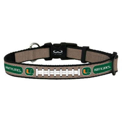 GameWear Miami Hurricanes Reflective Toy Football Collar
