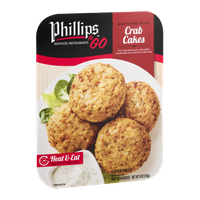 Phillips To Go Crab Cakes - 4 CT
