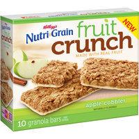 Kellogg's® Nutri-grain® Fruit Crunch Apple Cobbler Granola Bars