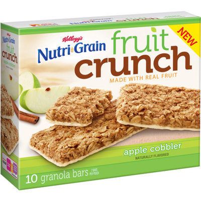 Kellogg's® Nutri-grain® Fruit Crunch Apple Cobbler Granola Bars