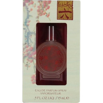 LUCKY NUMBER 6 by Lucky Brand EAU DE PARFUM SPRAY .5 OZ for WOMEN