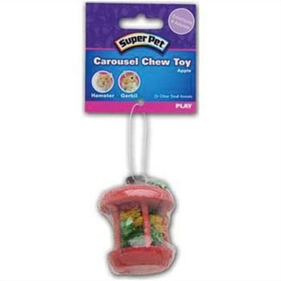 Super Pet Carousel Chew Toy Apple, Small