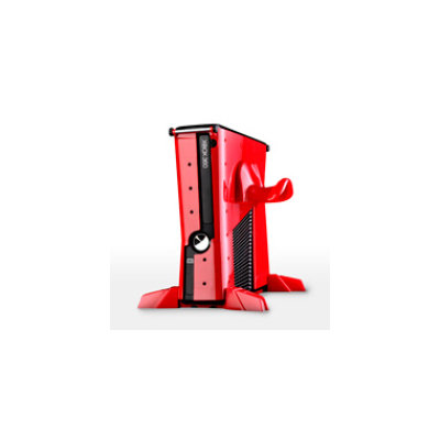 Calibur 11 Xbox 360 Slim Vault: Vampire Red