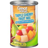 Great Value: Triple Cherry Fruit Mix, 15 Oz