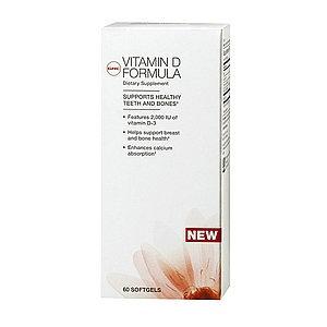 GNC Vitamin D Formula