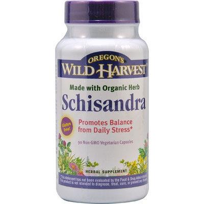 Oregon's Wild Harvest Schisandra 90 Non-GMO Vegetarian Capsules