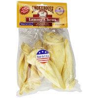 Smokehouse 100-Percent Natural Puffed Lammy Chews Lamb Ears Dog Treats, 6-Pack