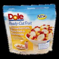 Dole Ready Cut Fruit Strawberries, Peaches & Bananas
