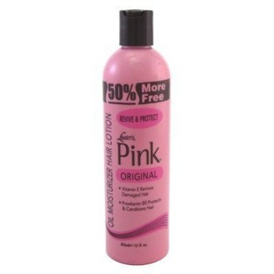 Luster's Pink Oil Moisturizer Hair Lotion, Pink Protection, Bonus Size, 12 Oz