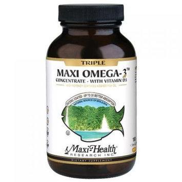 Maxi Health Kosher Vitamins Max Health Triple Omega3 with Vitamin D3 180 Caps