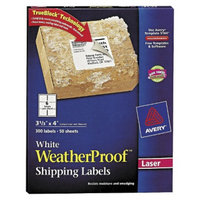 Avery  Weatherproof Laser Shipping Labels - White