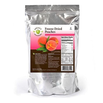 Legacy Premium Food Storage Survival Supply Freeze Dried Peaches Emergency Prepper Food Storage