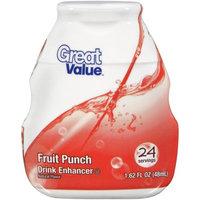 Great Value Fruit Punch Drink Enhancer, 1.62 oz