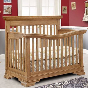 C And T International Inc Lusso Nursery Manchester Crib with Mini Rail