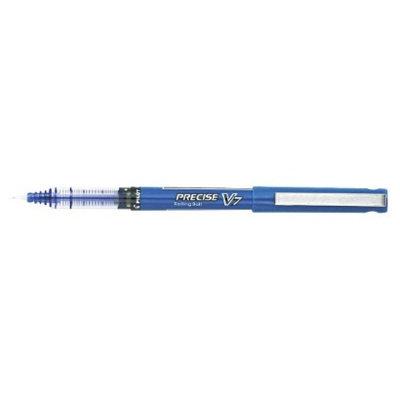 Pilot Precise V7 Roller Ball Stick Pen, Needle Point, 0.7mm Fine -