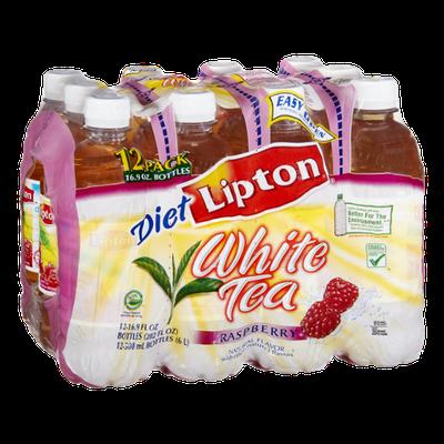 Lipton Diet Raspberry White Tea- 12 PK