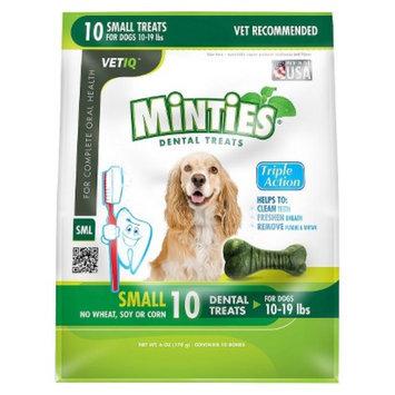 VetIQ Minties Dental Bone Pet Treat for Dogs - 6 Oz (S)