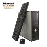 Flush Enterprises Refurbished small form factor desktop opti 760 Core2Duo 2.8GHz 2GB 250GB HDD DVDRW Win7HP