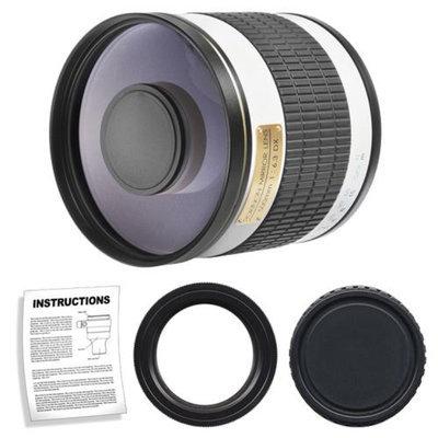 Rokinon 500mm f/6.3 Multi-Coated Mirror Lens for Pentax K-30, K-7, K-5, K-01, K-R Digital SLR Cameras