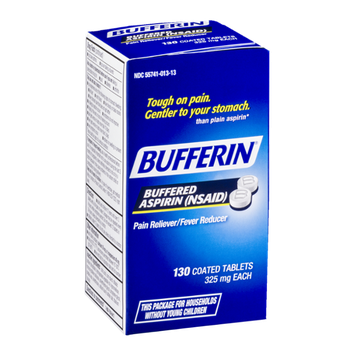 Bufferin Buffered Aspirin Coated Tablets - 130 CT