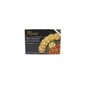 Monet Mini Original water crackers for dipping (1 x 6 OZ)