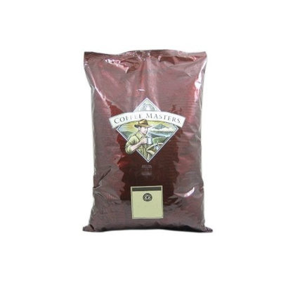 Coffee Masters Double Vanilla Crème Mountain Water Decaffeinated Coffee, Whole Bean (5 Pound Bag)