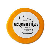WisconsinMade Wisconsin Cheddar Cheese - 1 lb. Round, Mild Cheddar