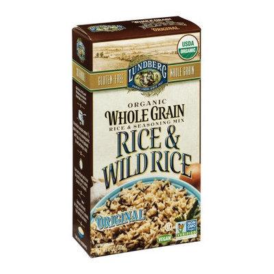 Lundberg Family Farms Organic Whole Grain Rice & Wild Rice Original, 6 OZ (Pack of 6)