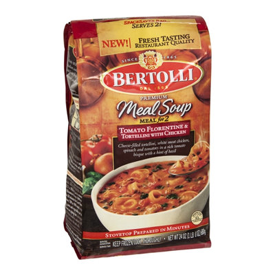 Bertolli Meal Soup Meal for 2 Tomato Florentine & Tortellini with Chicken