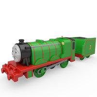 Mattel, Inc. TrackMaster™ Big Friends Motorized Engine Henry - Kmart Exclusive