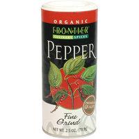 Frontier Certified Organic Pepper Black Fine Grind