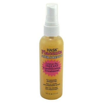 Hask Placenta Leave-in Conditioning Treatment Super Strength 5 oz. Pump