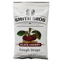 Smith Bros. Sugar Free Cough Drops, Cherry, 25 ea