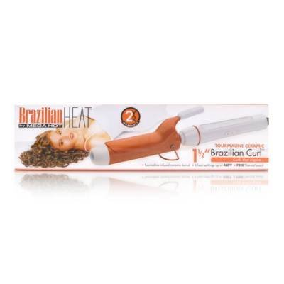 Mega Hot BBH3103 Brazilian Heat 1.5 Curling Iron