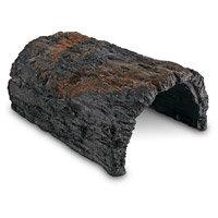 Conceptual Creations Large Bark Log Reptile Hideaway, 9 L X 6 W X 4 H
